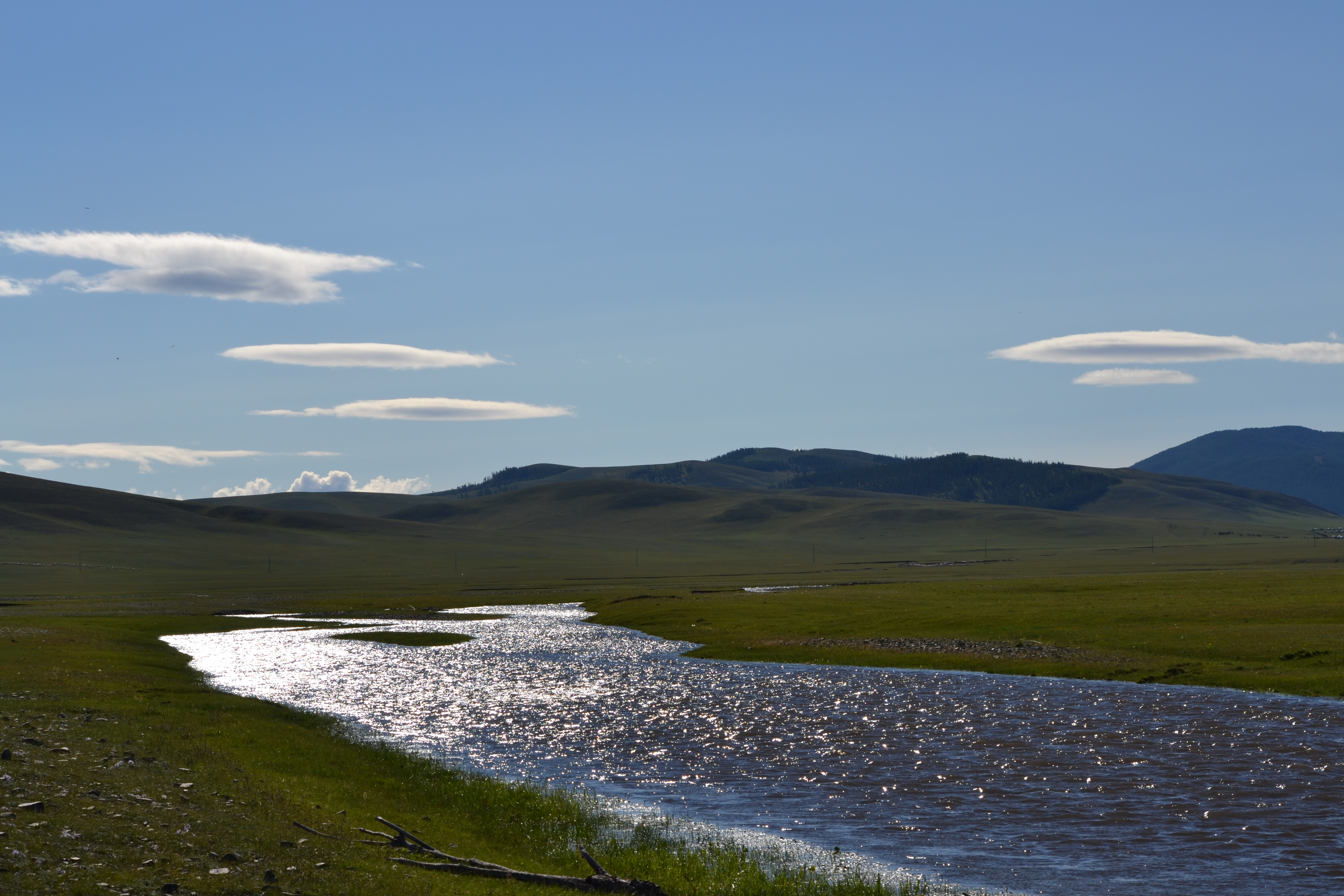 Image of scenery in Tsenkher Hot Springs, Mongolia