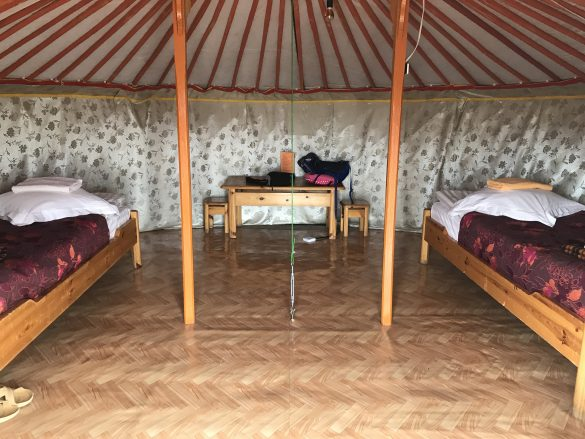 Staying in a Mongolian Ger Camp