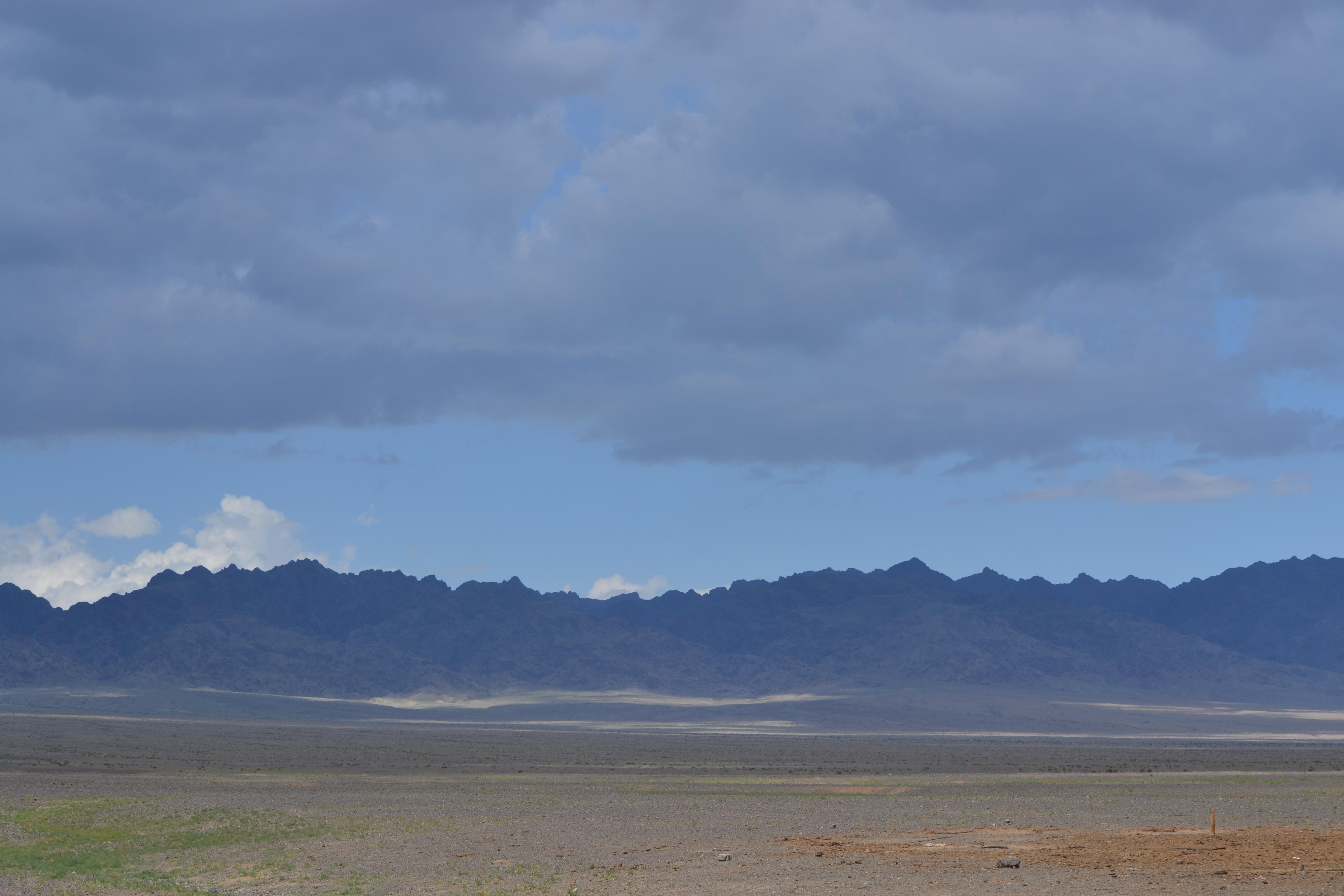 image of Gobi Desert landscape