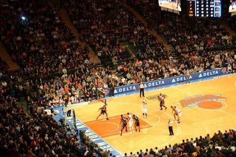 Image of the Knicks, must see on first time visit to New York