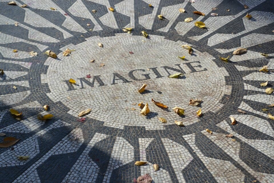image of strawberry fields, new York