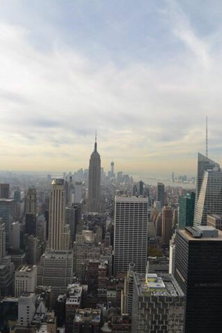 Image of view from top of the rock, a must see for first visit to New York