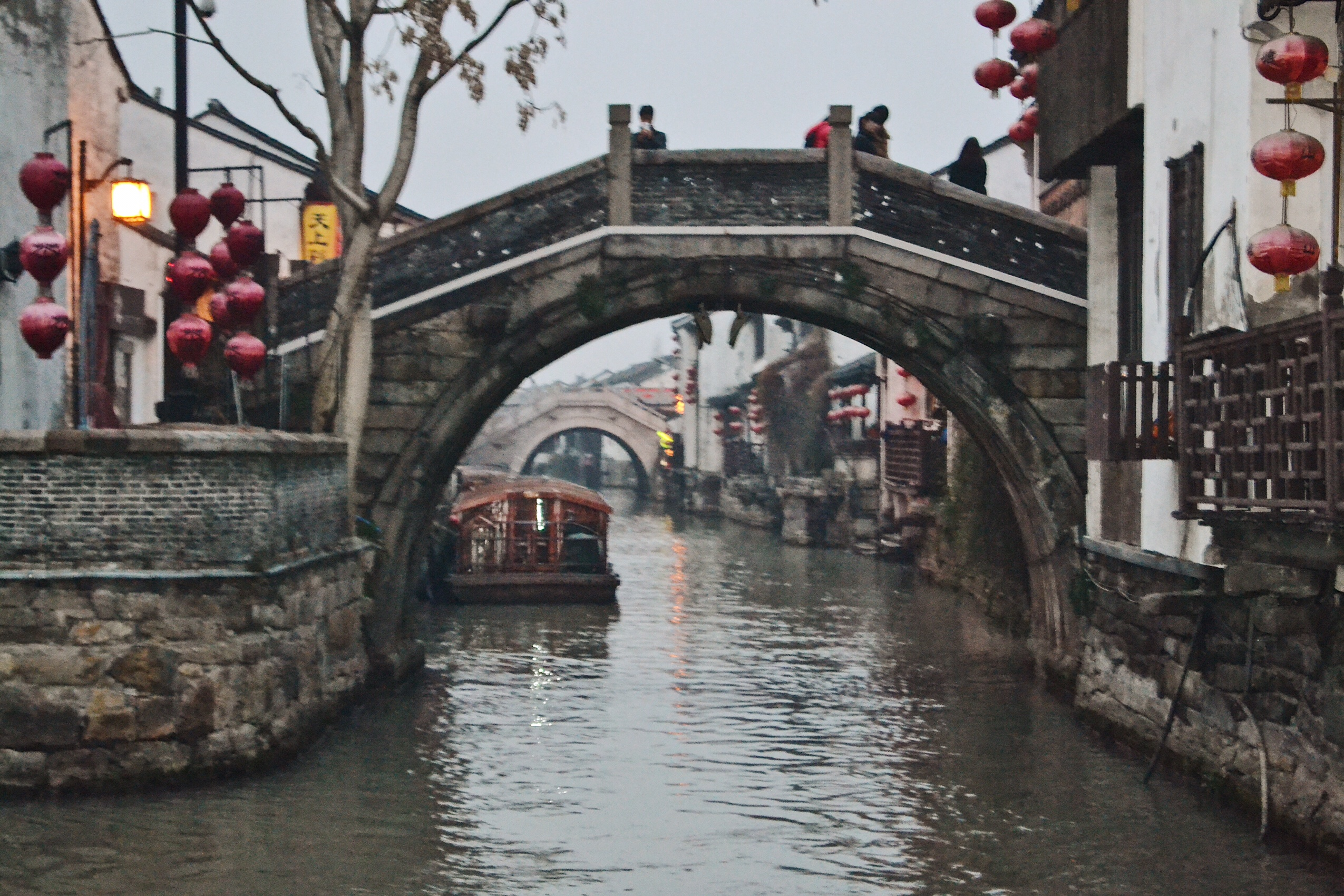 Image of canals in Suzhou in China