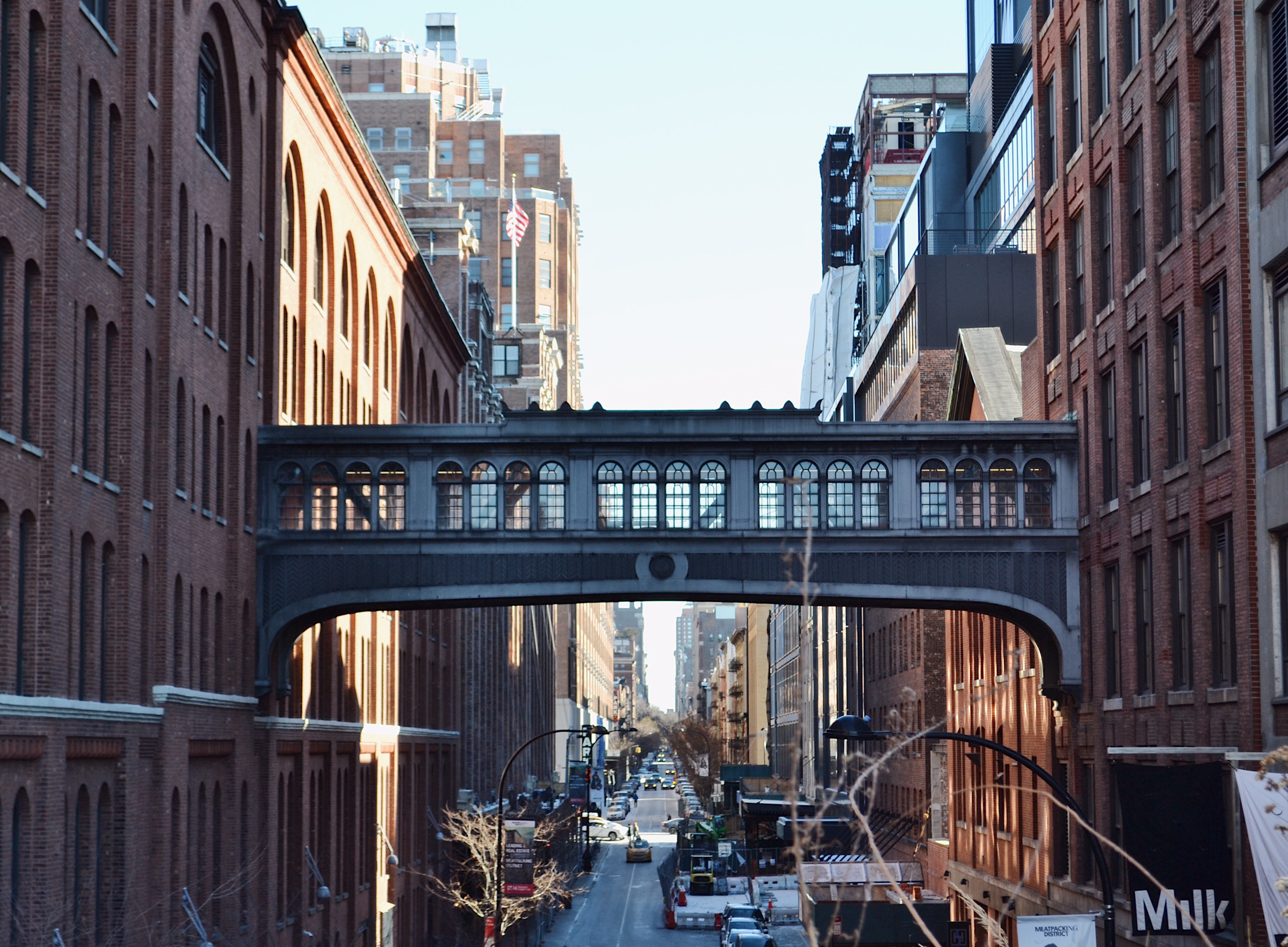 image of meatpacking district in New York from the highline