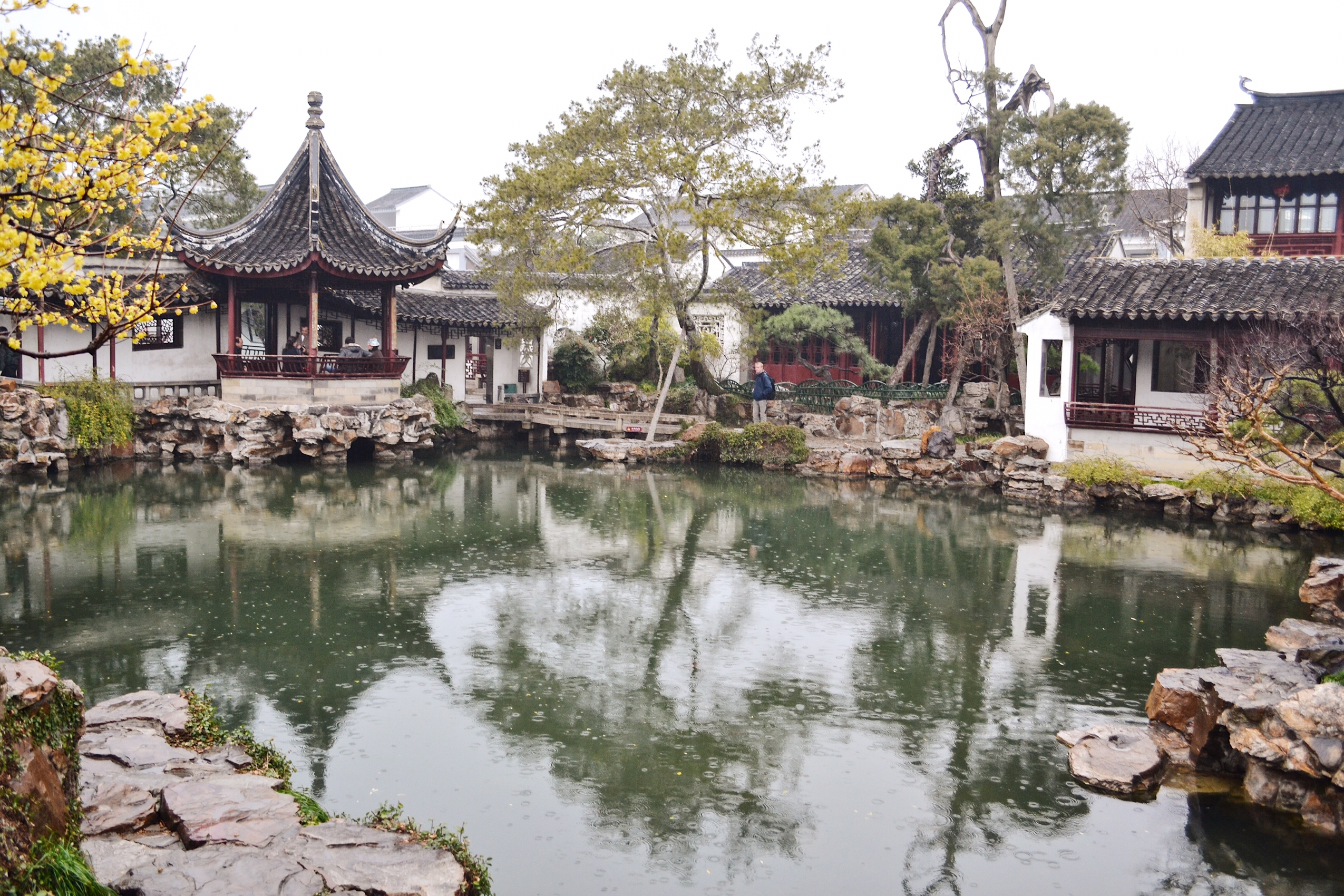 image of master of the nets in Suzhou in China