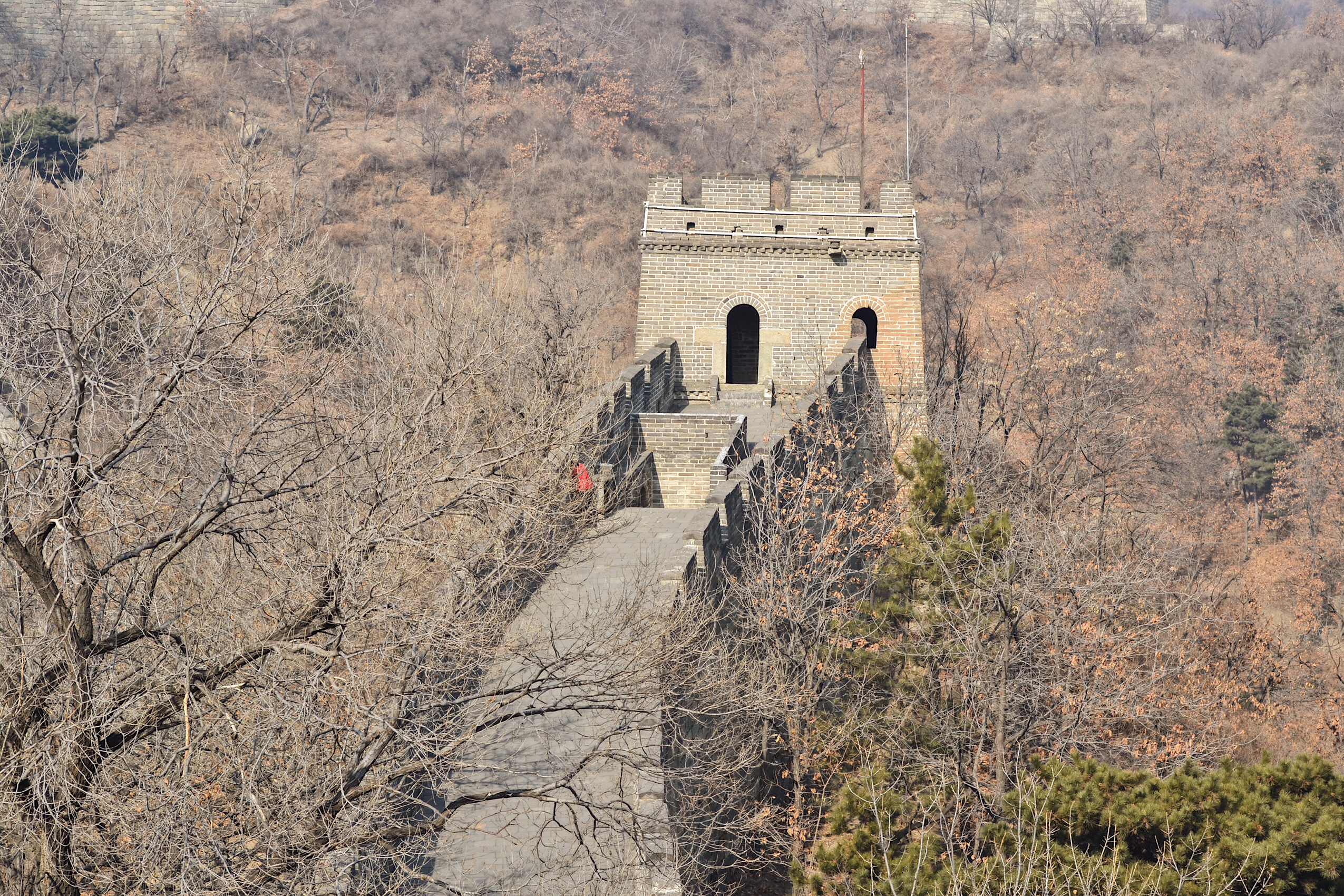 Image of Great Wall of China in Mutianyu