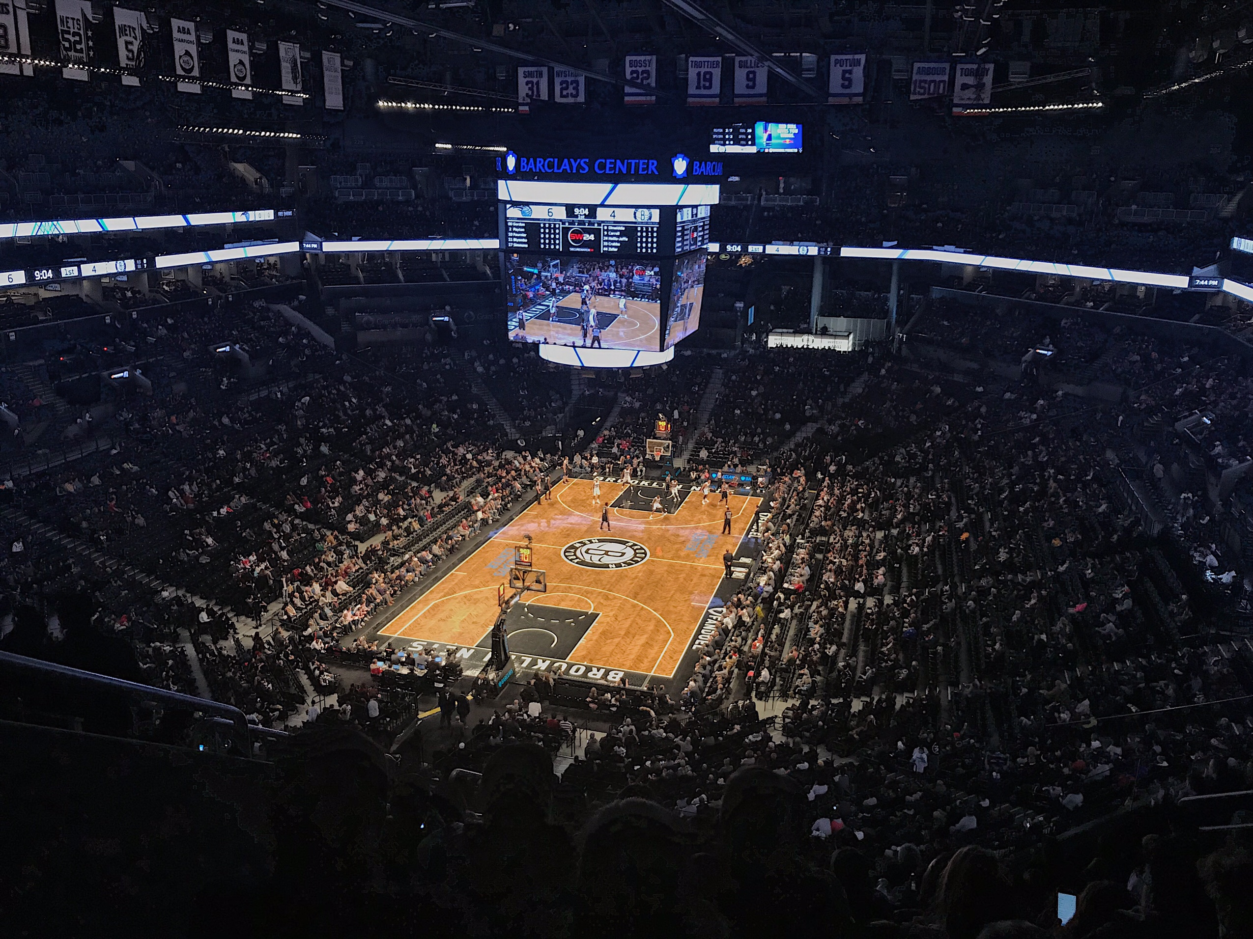 image of the Brooklyn nets in New York