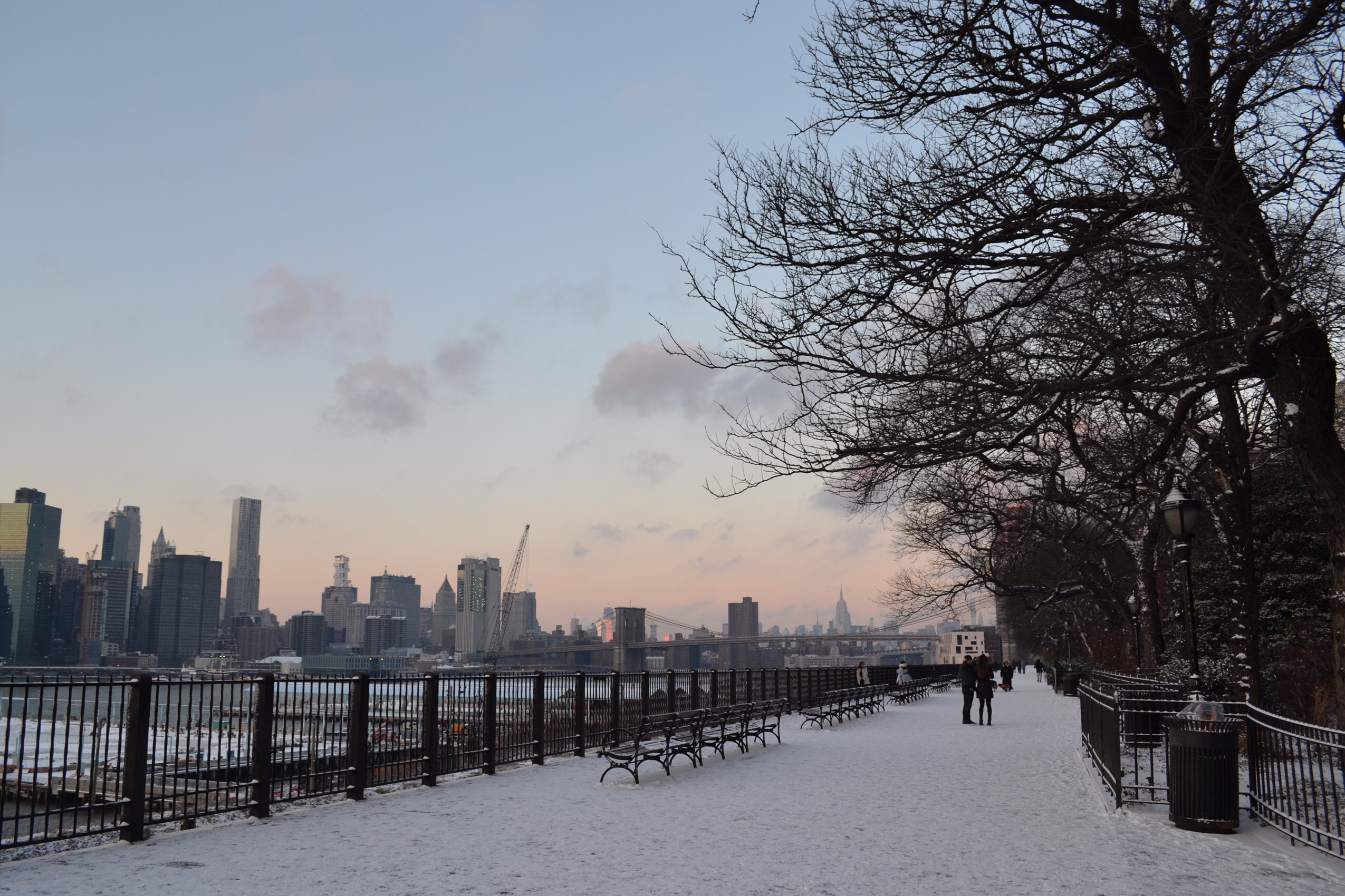 Image of Brooklyn Heights promenade in New York