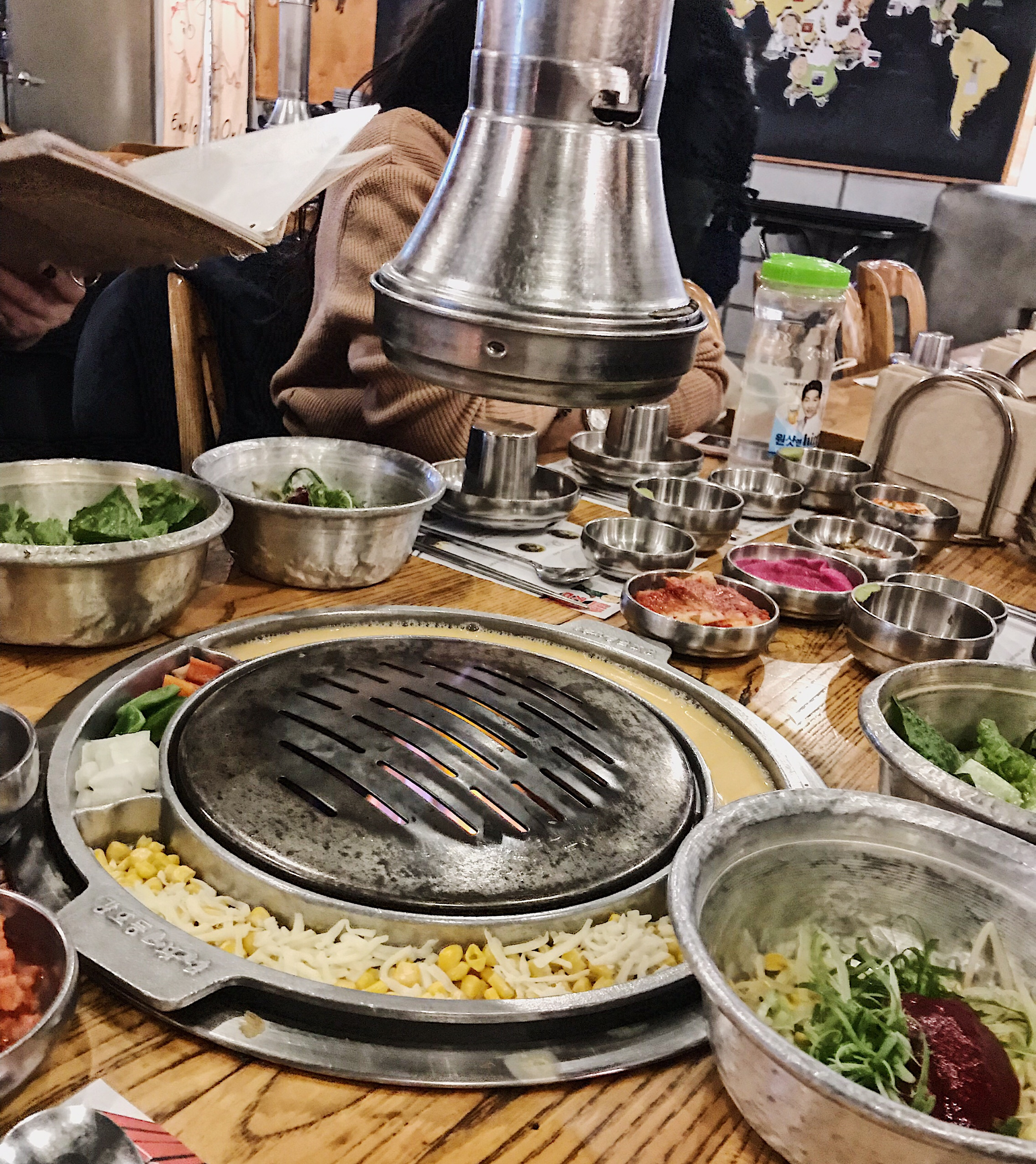 image of Korean food being cooked