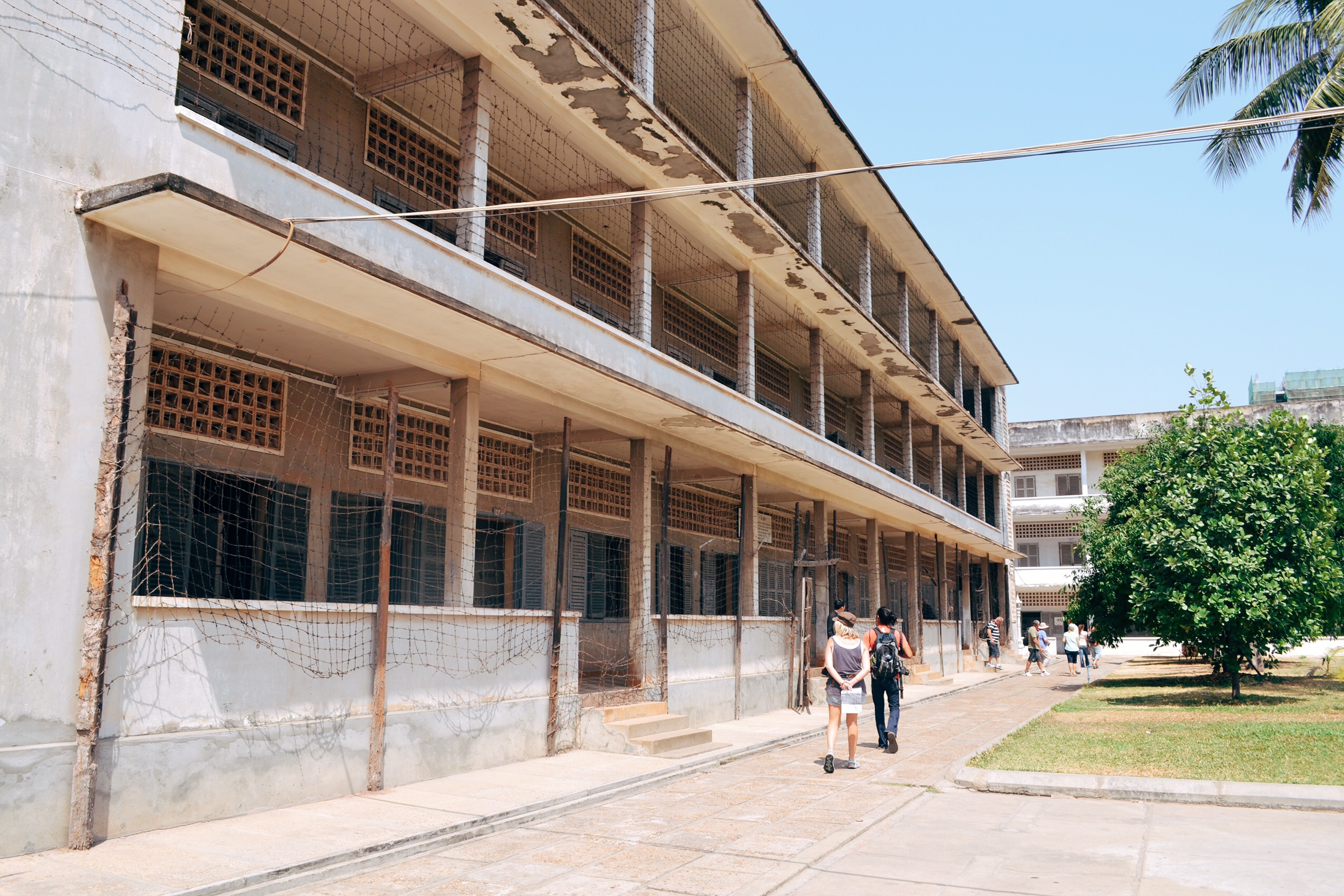 image of tuol sleng in Cambodia