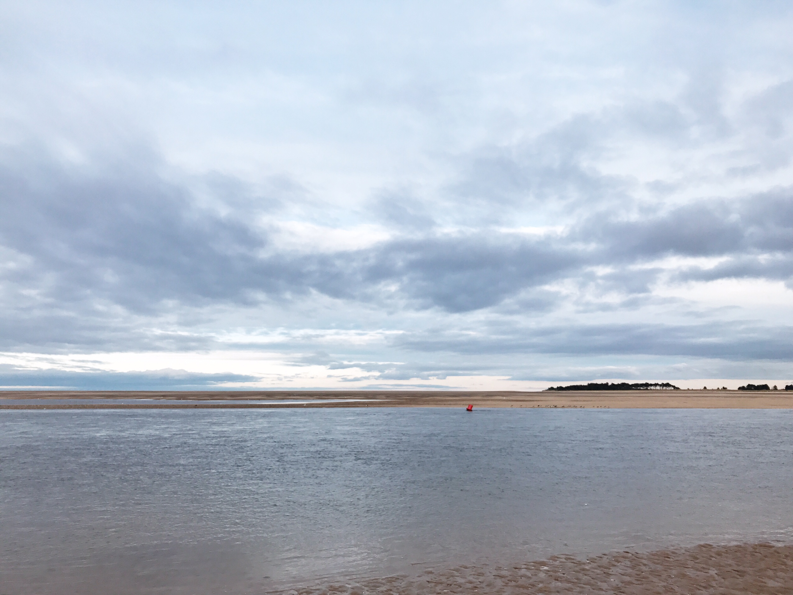 image of sea at Wells-next-the-sea in Norfolk