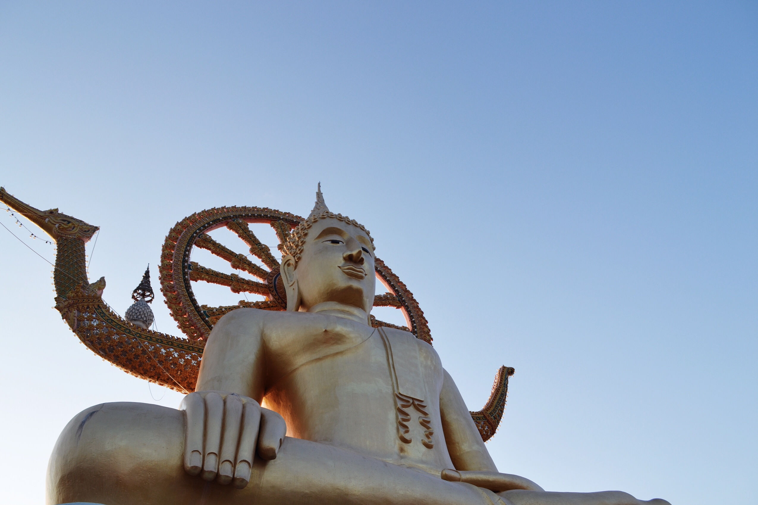Image of Budda on Koh Samui in Thailand