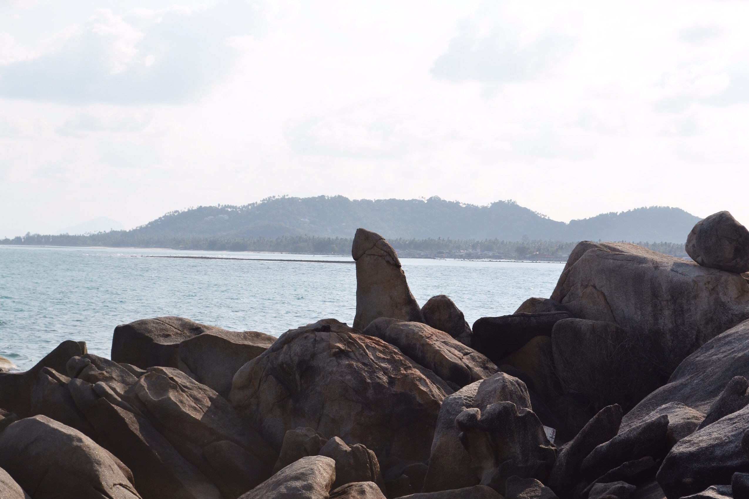 Image of Grandfather Rock in Koh Samui in Thailand