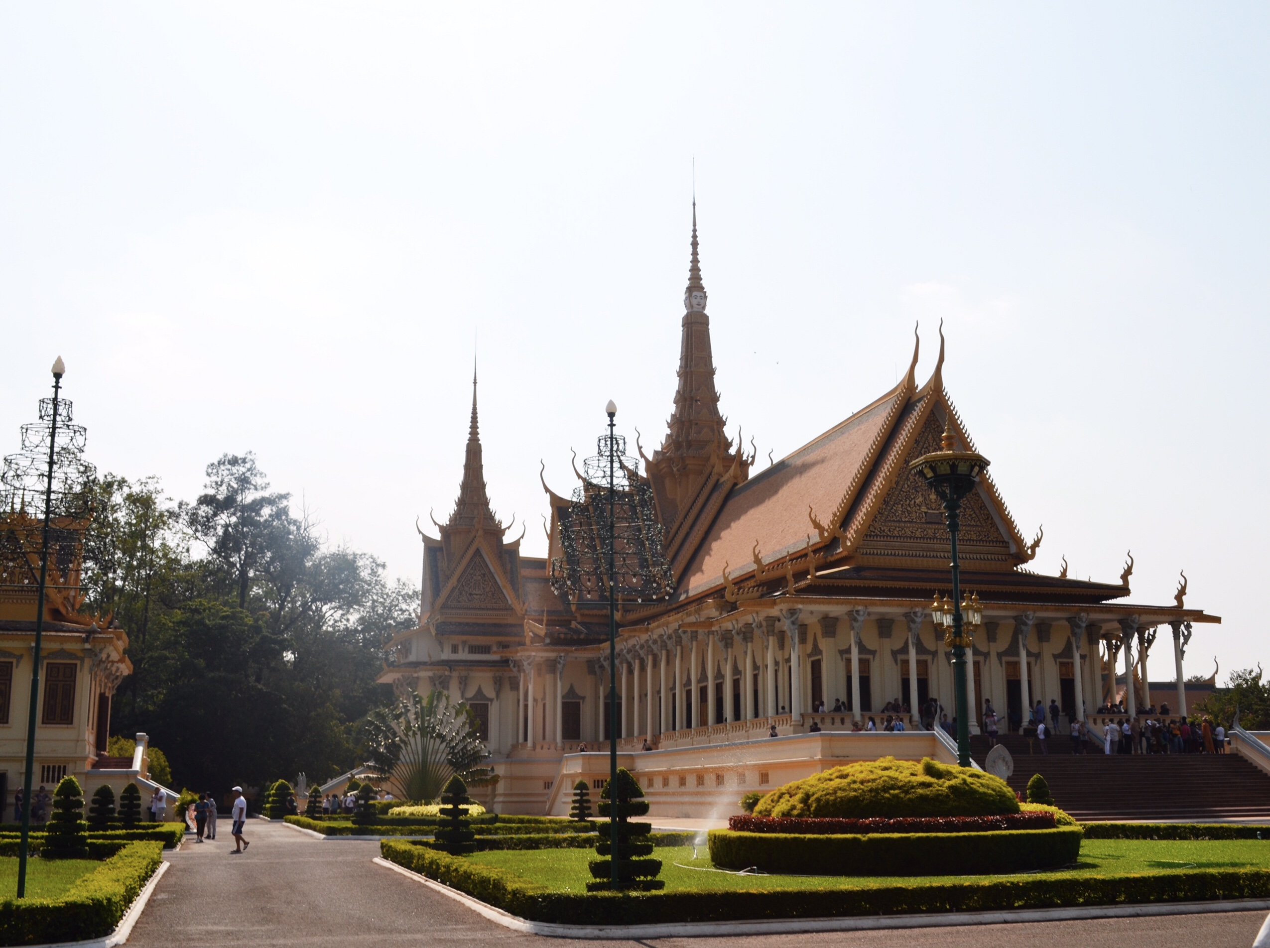 Image of royal palace in Cambodia