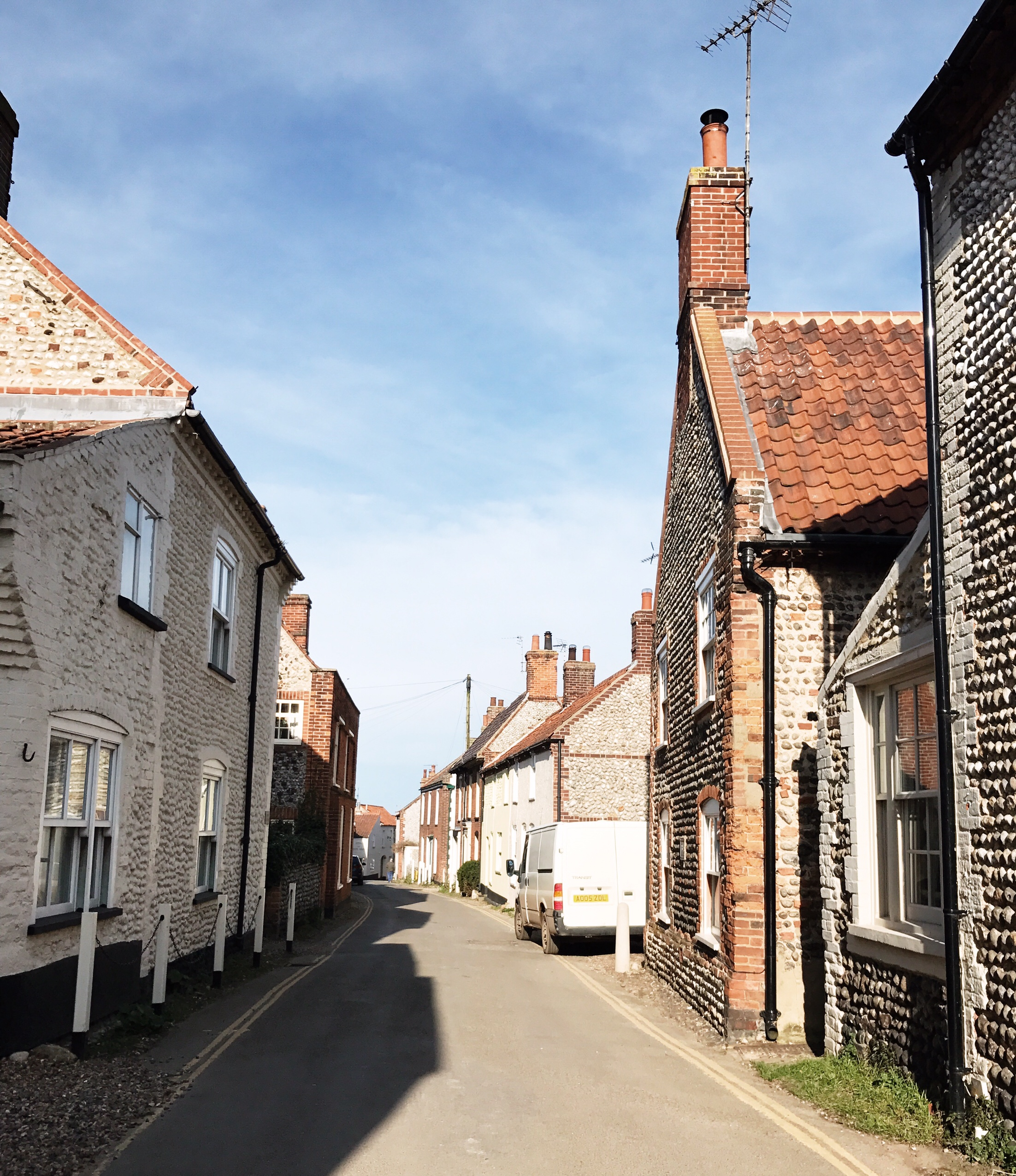 image of Blakeney High Street in Norfolk