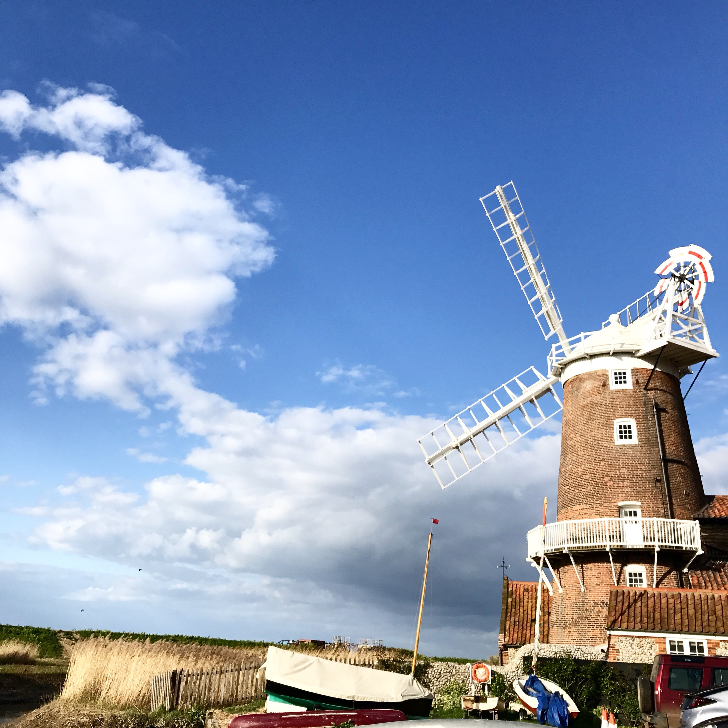 image of cley windmill in Norfolk