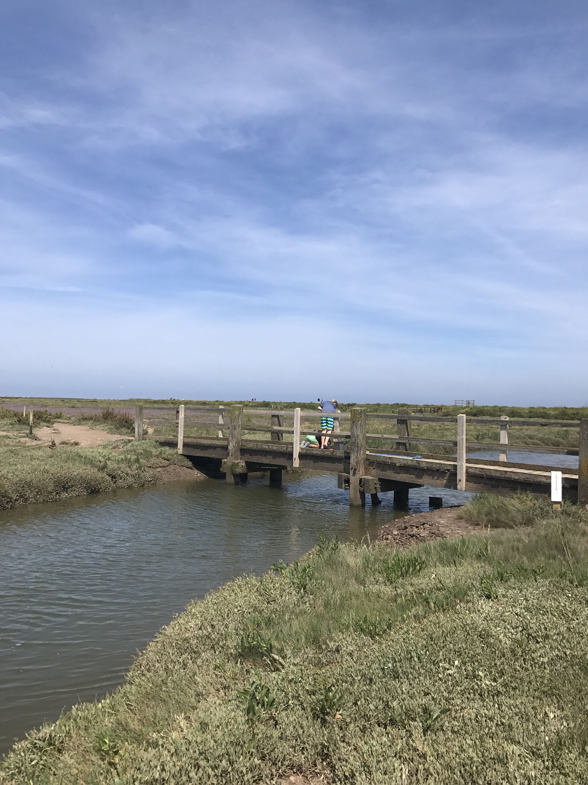 image of blakeney bridge in Norfolk