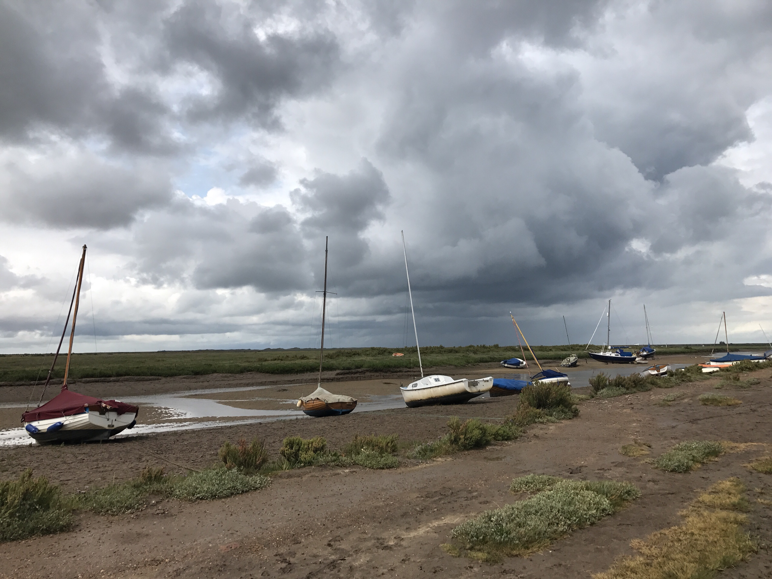 Image of storm at Morston in Norfolk
