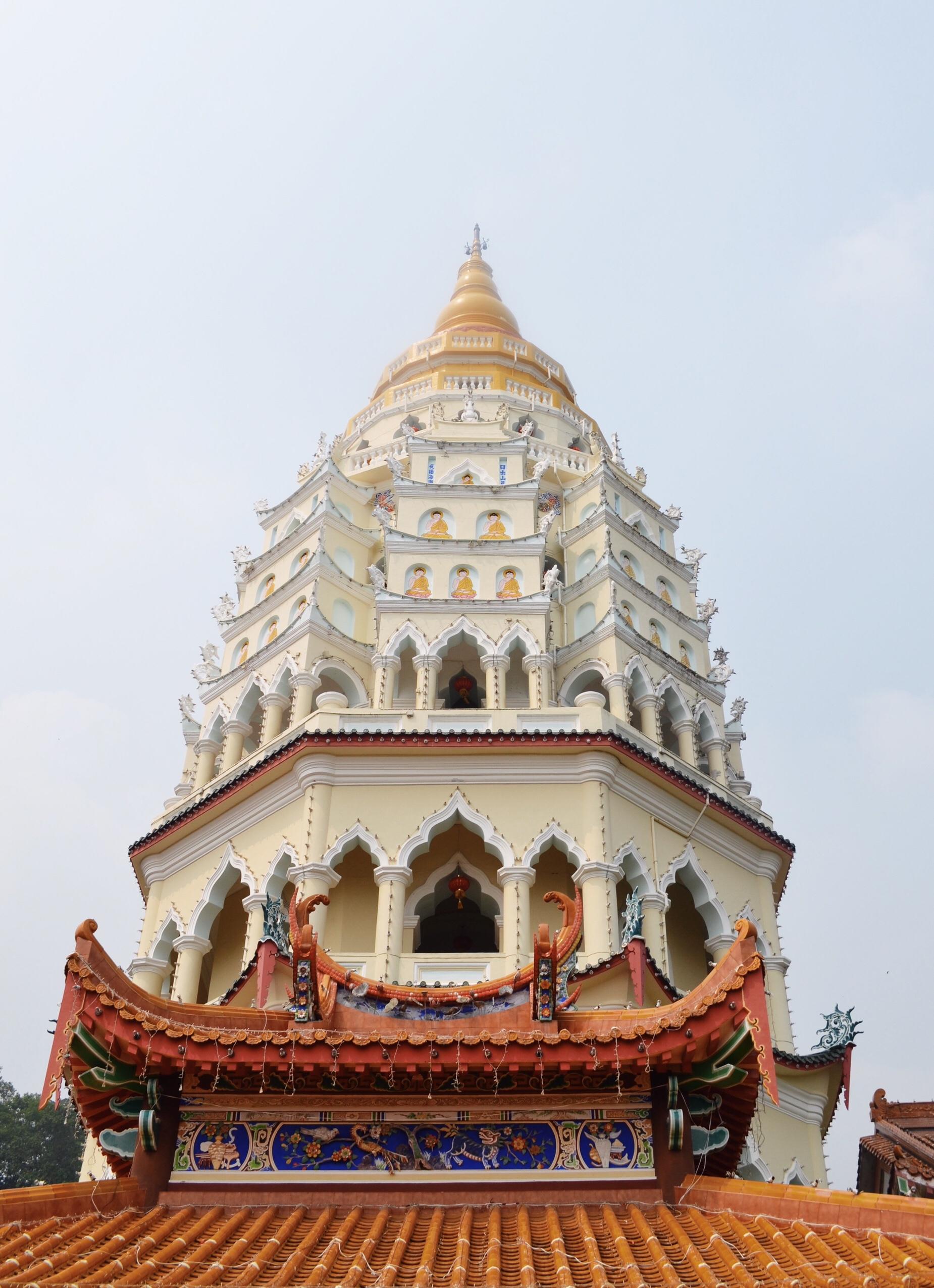 Kek Lok Si temple in Malaysia