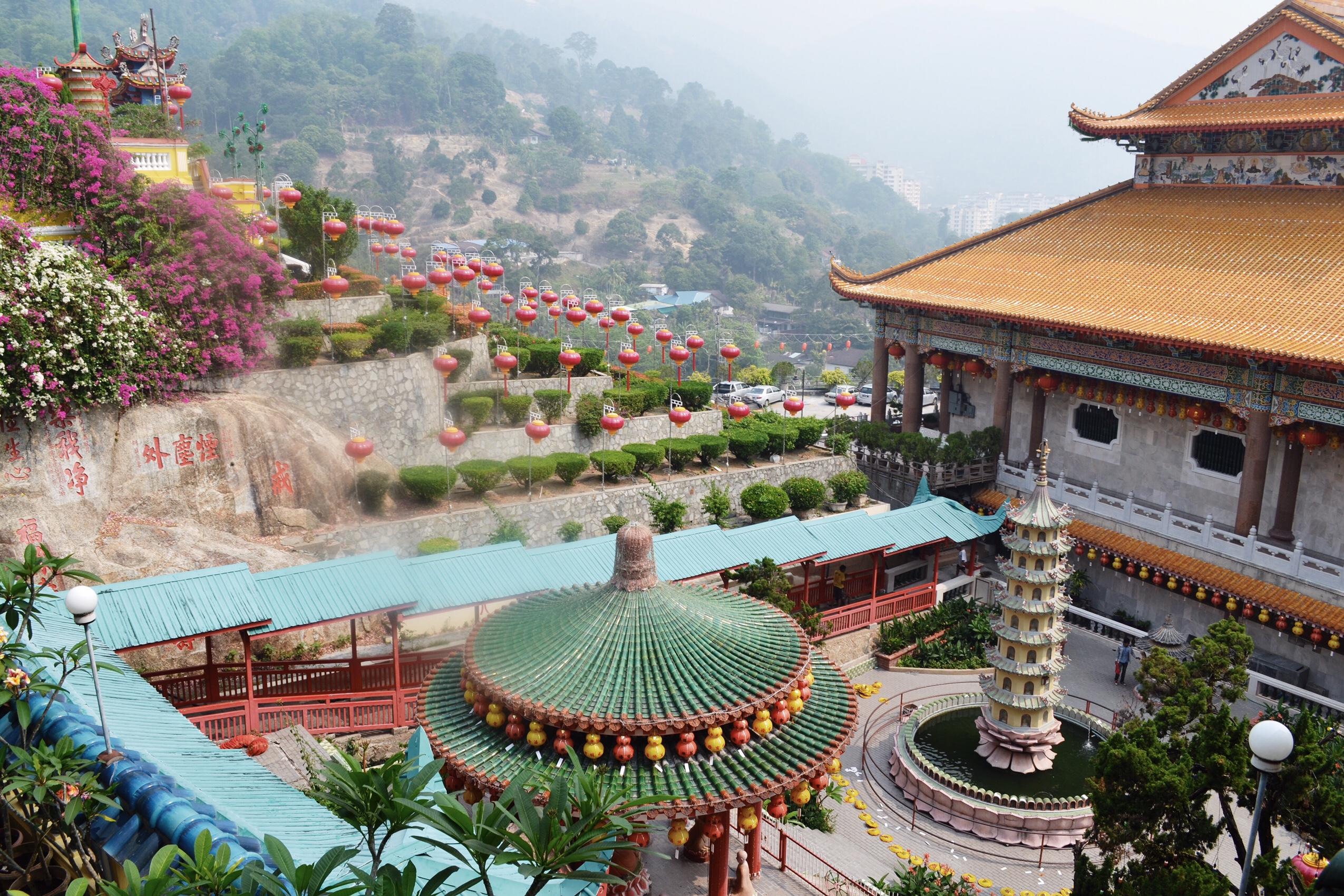 image of Kek Lok Si temple in Malaysia
