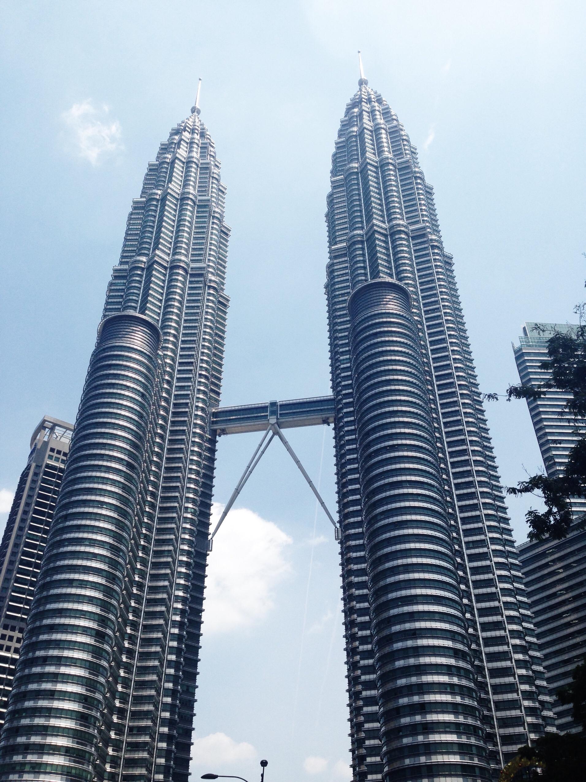 Image of Petronas Towers in Malaysia