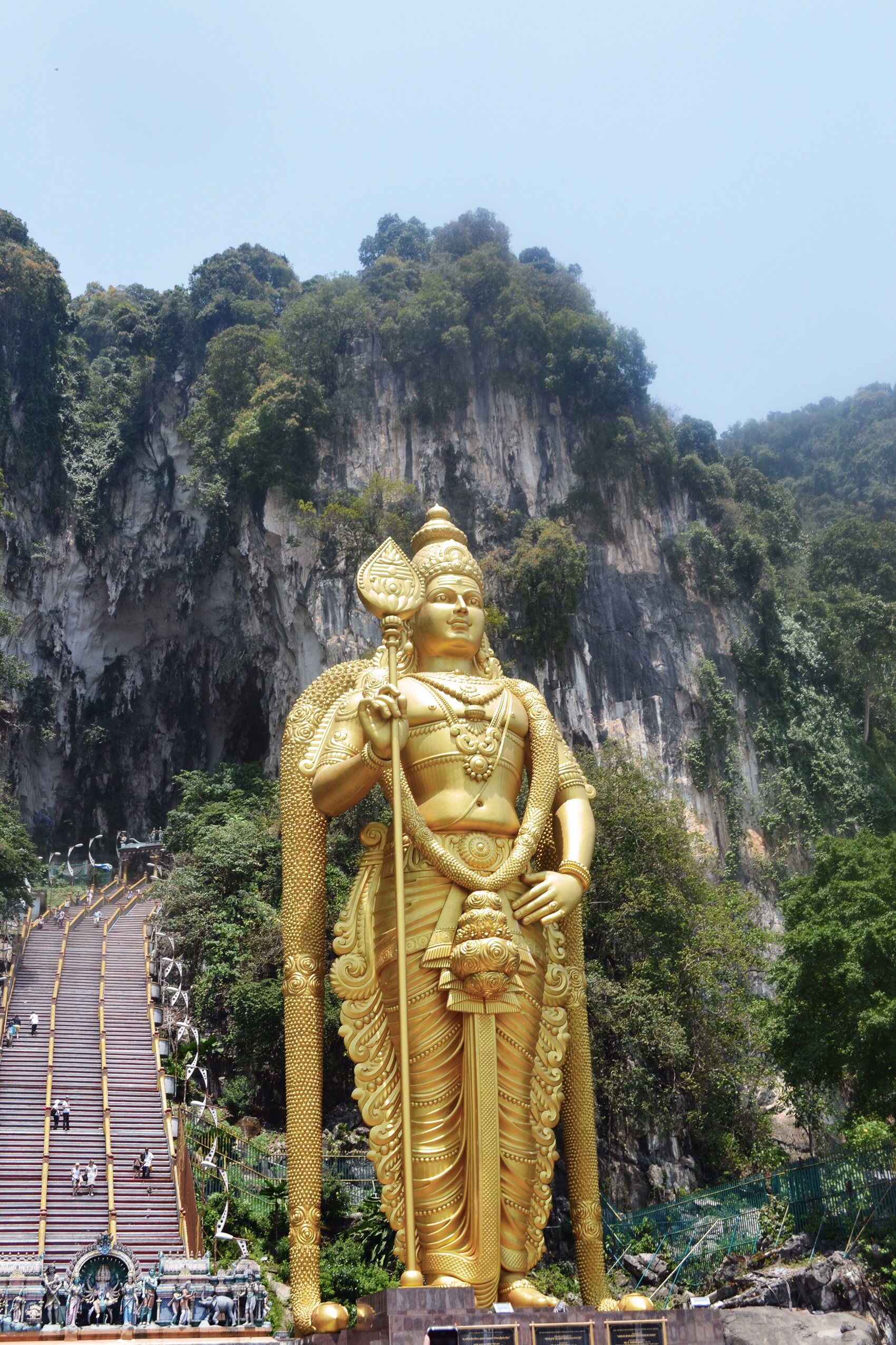 Image of Batu caves in Malaysia