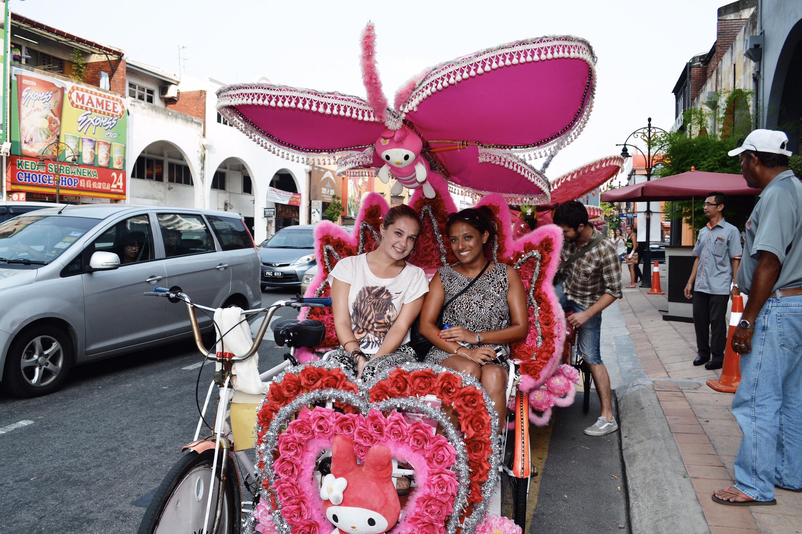 Image of Melaka Rickshaw in Malaysia