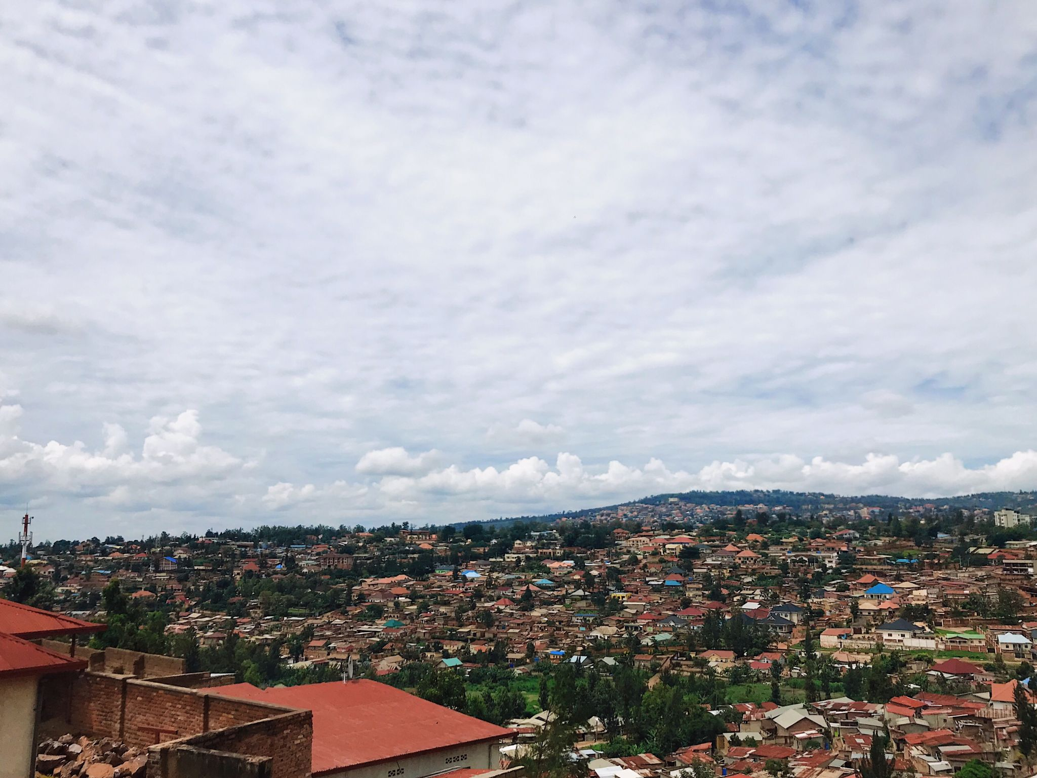 Image of Kigali the capital city of Rwanda