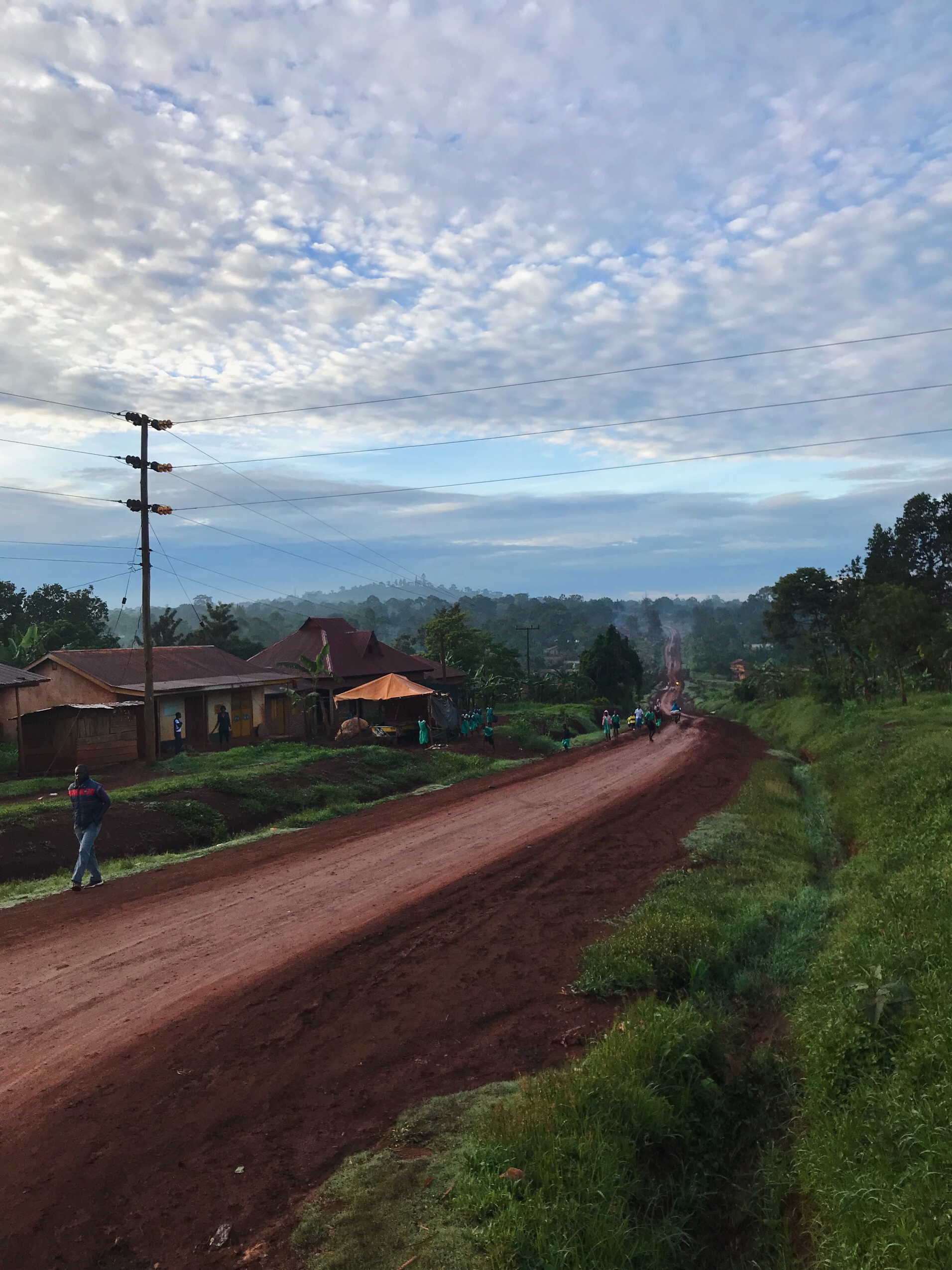 image of local village near Jinja