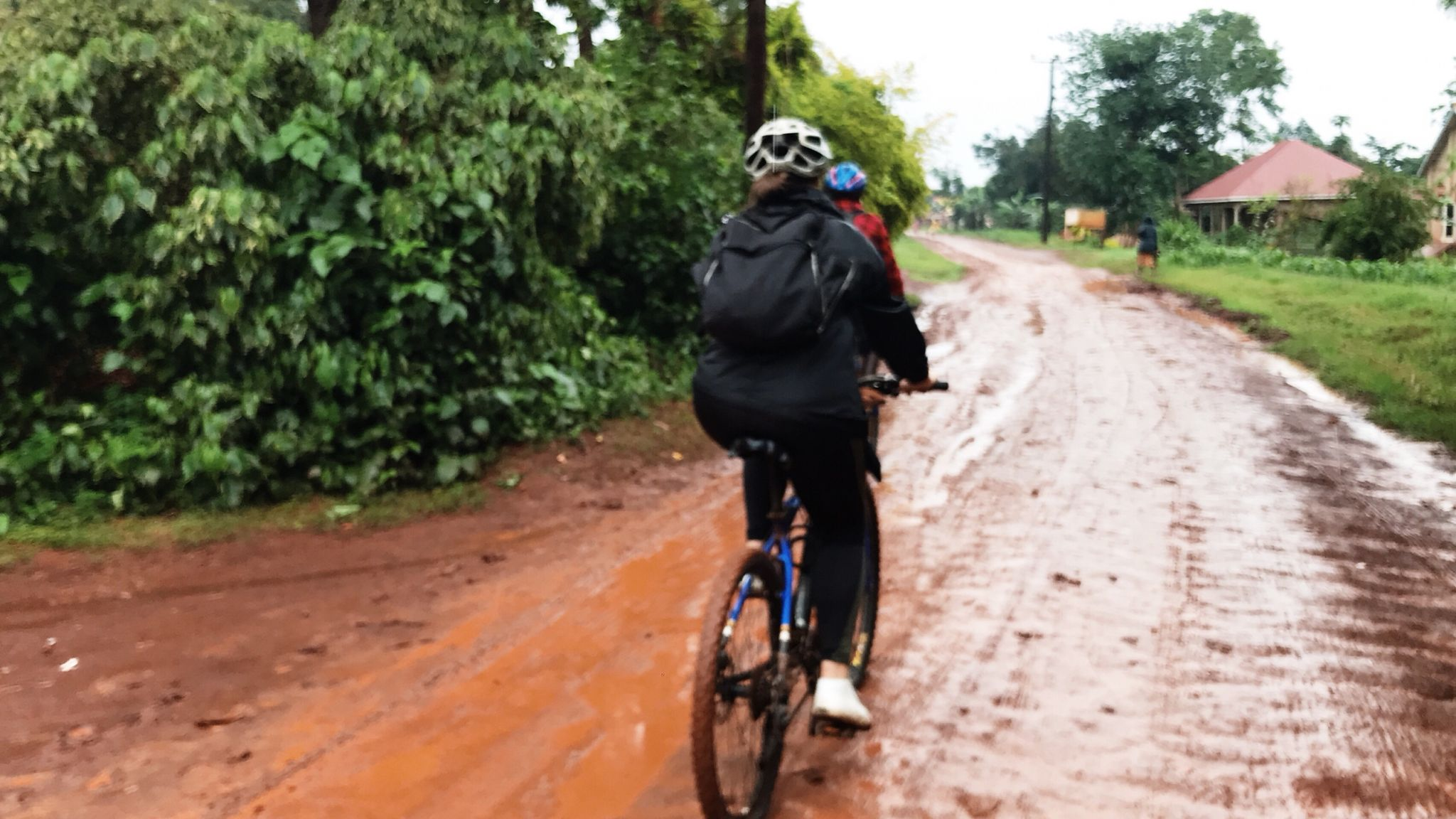image of mountain biking in Jinja