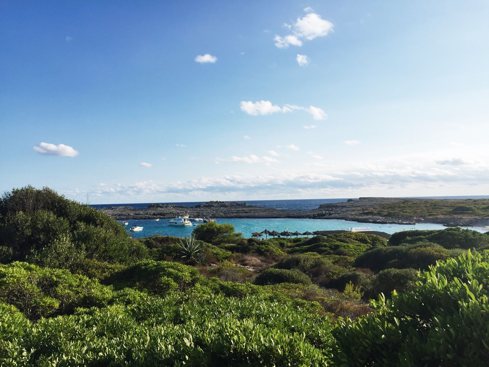 Picture of sea views in Menorca