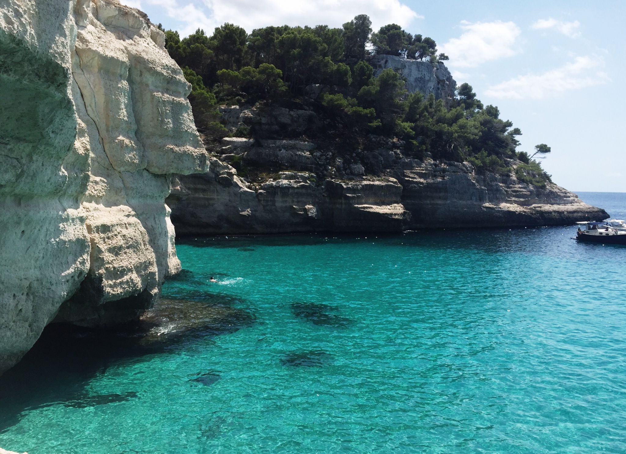 Picture of Cala Mitijana in Menorca