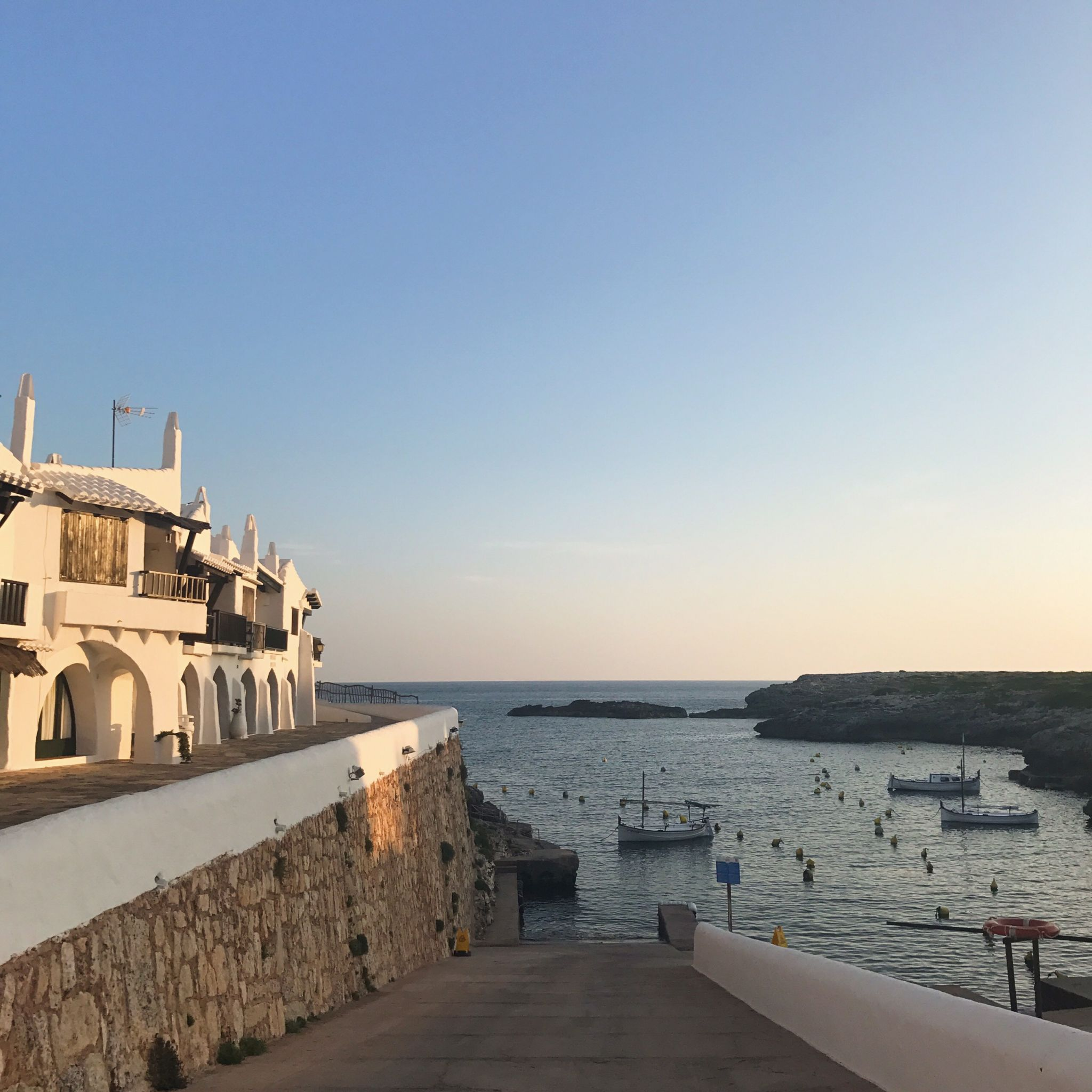 picture of Menorca giving me post holiday blues