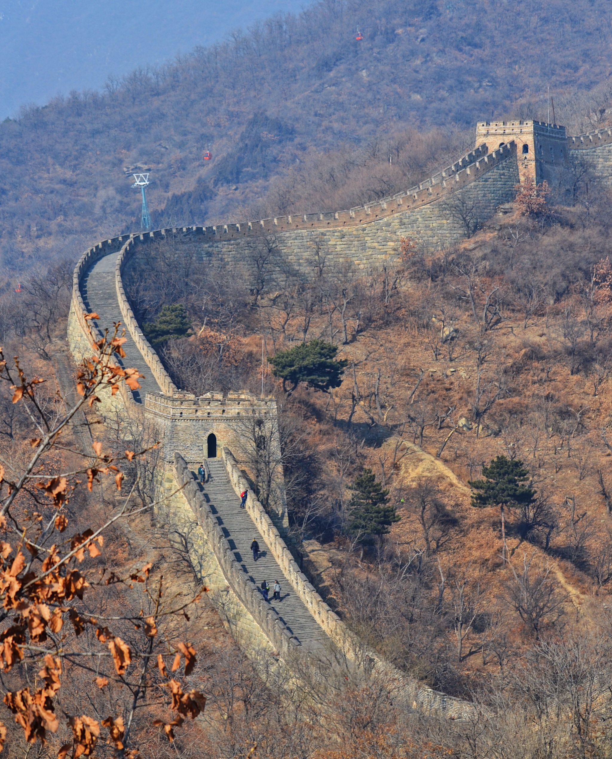 image of the Great Wall of China from the Ultimate Travelist
