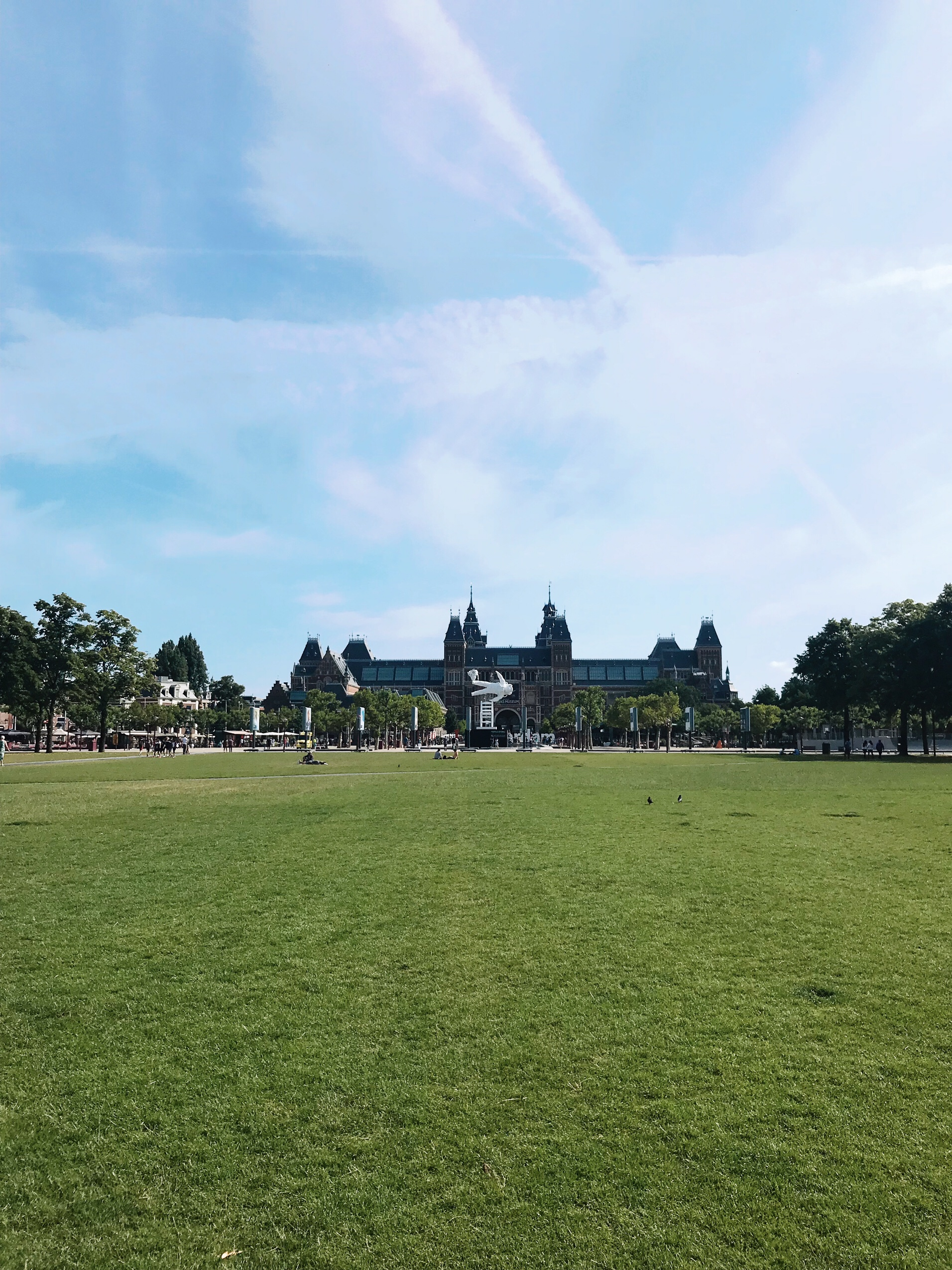 Image of Museumplein where you should visit in 48 hours in Amsterdam