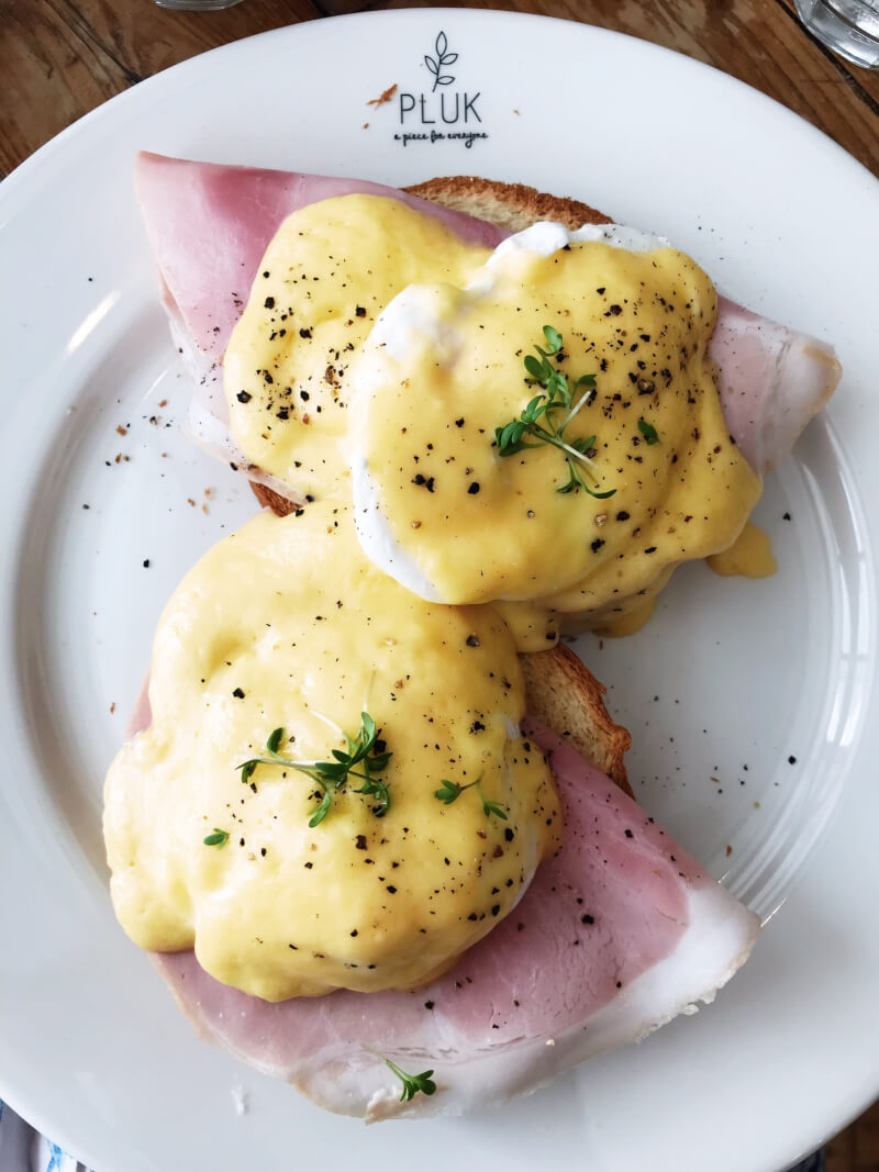 image of eggs Benedict in Pluk, Amsterdam