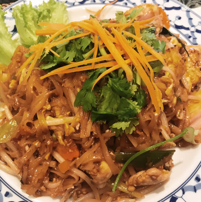image of pad Thai from little Thai prince, must eat food in 48 hours in Amsterdam