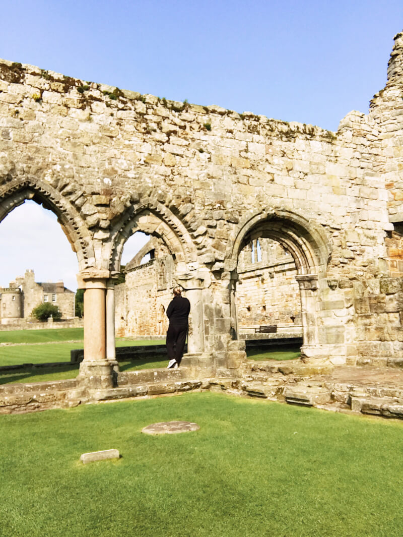 Image of the chapter house in St Andrews Cathedral