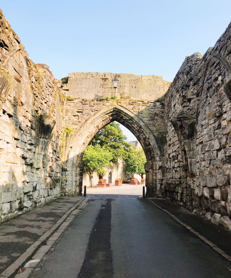 Image of the Town Walls in St Andrews
