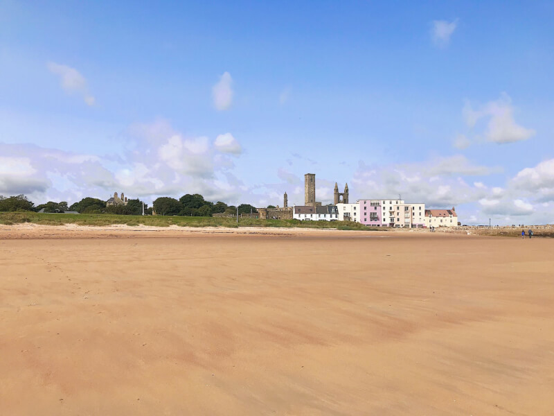 Image of East Sands in St Andrews