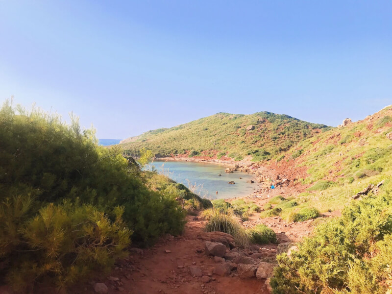 Image of Cavalleria beach in what to do in Menorca