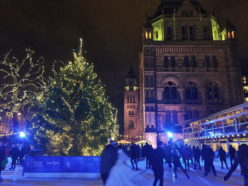 image of Natural History Museum Ice rink