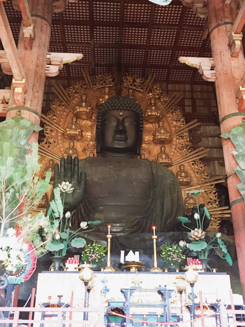 image of buddha in Japan itinerary