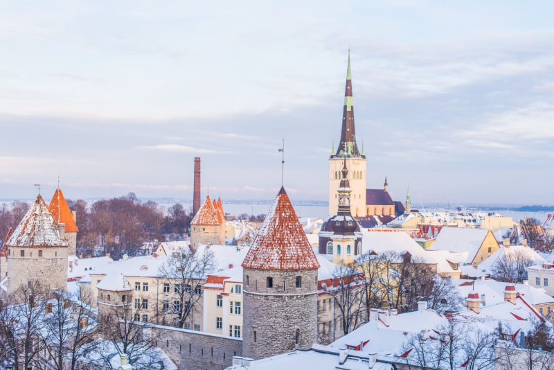 Image of Tallinn, best places to visit in Winter