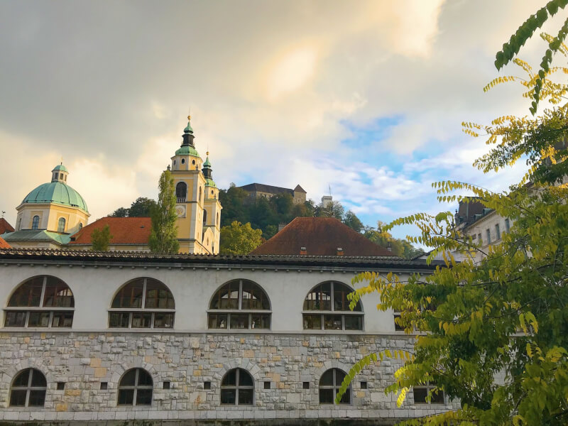 image of castle, one of the best things to do in Ljubljana