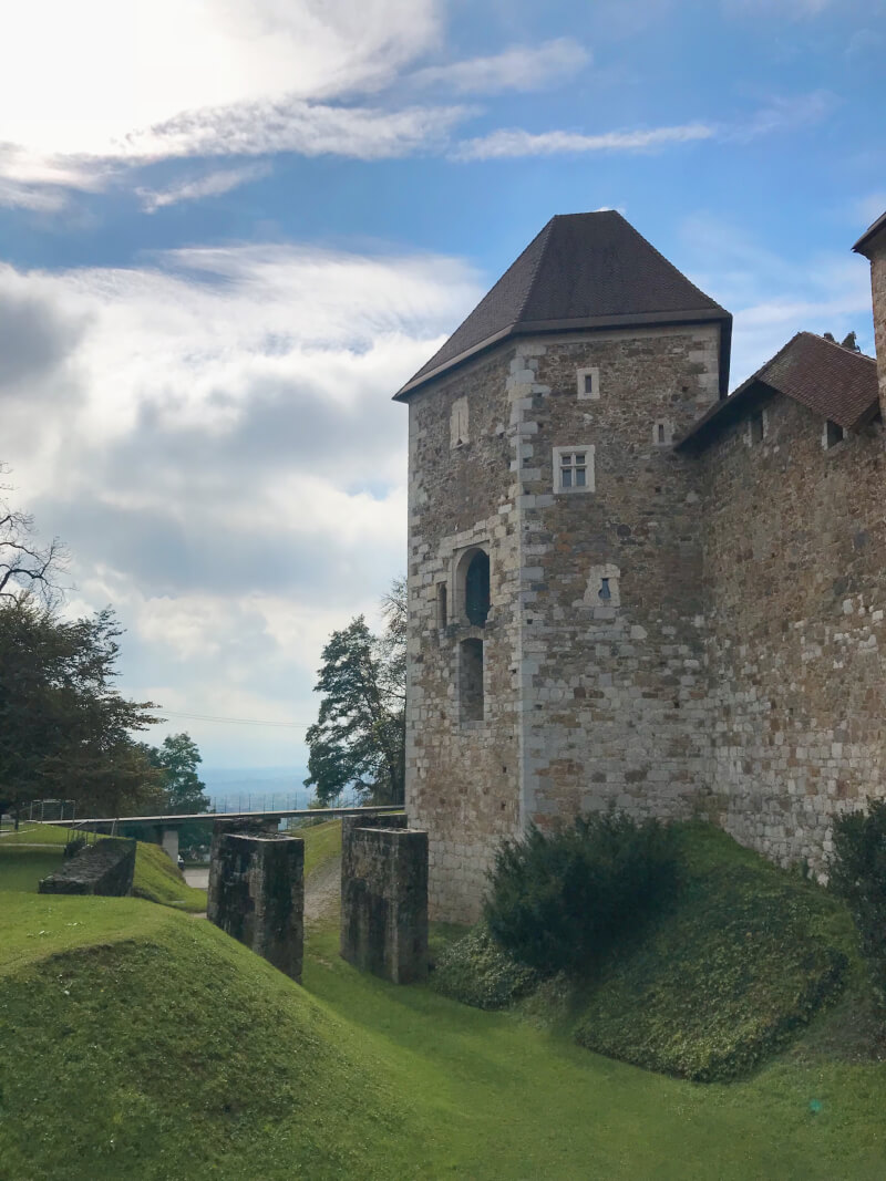 image of Ljubljana castle, one of the best things to do in Ljubljana