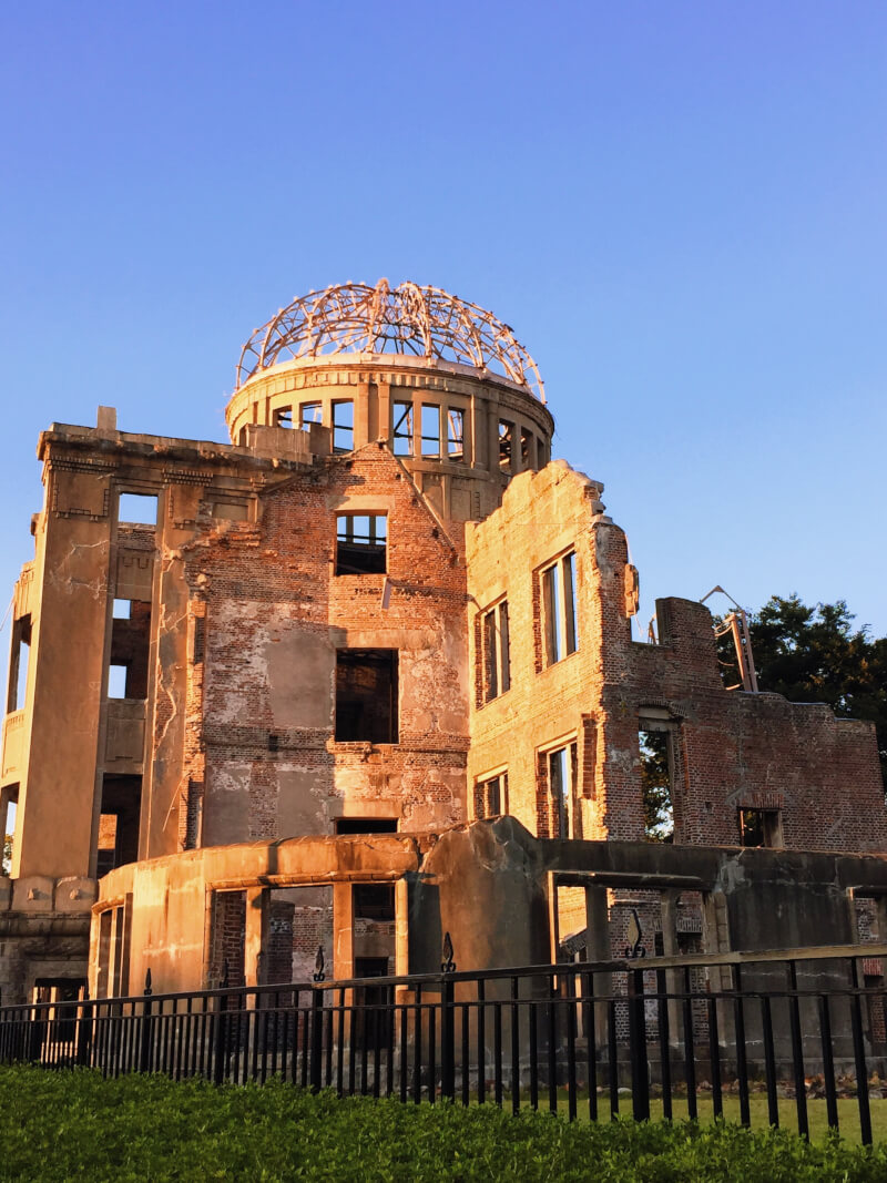 image of a-bomb dome in Hiroshima - Japan itinerary