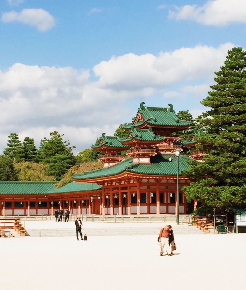 image of imperial place in Japan itinerary