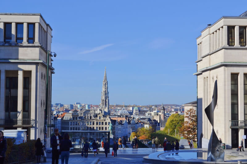 image of Brussels, on a solo travel trip