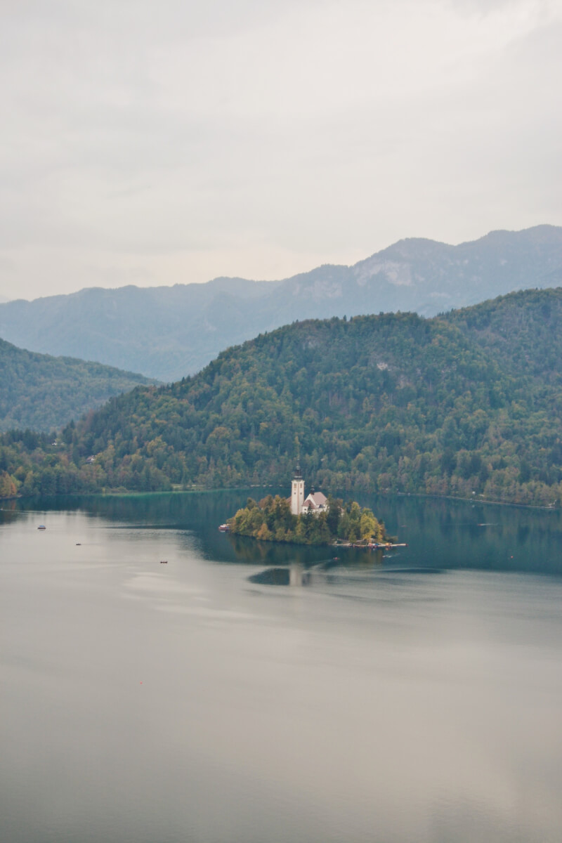image of Lake Bled, on a day trip to Lake Bled